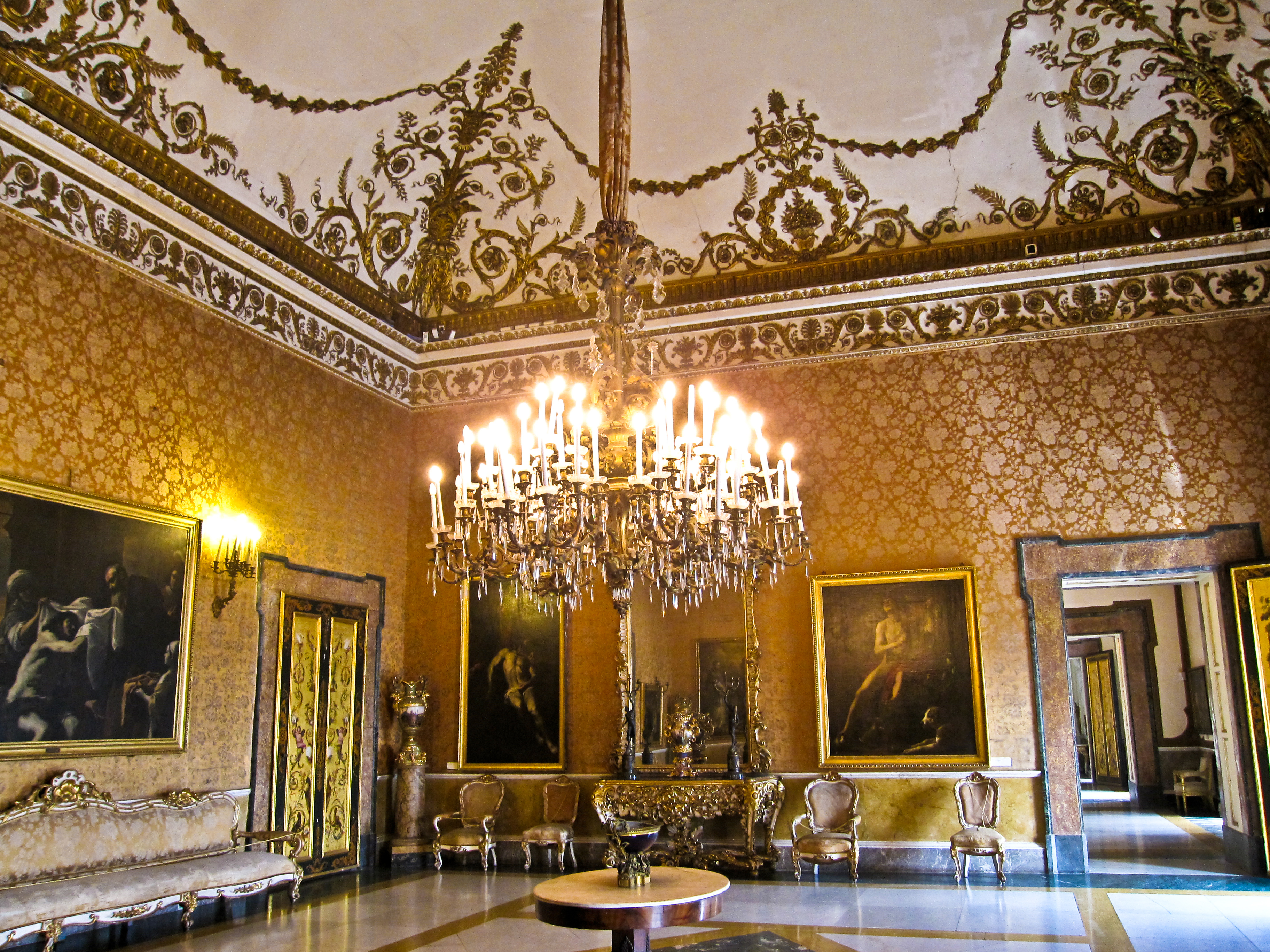 Jazz a corte al palazzo reale di napoli con i giovani for Planimetrie del palazzo con sala da ballo