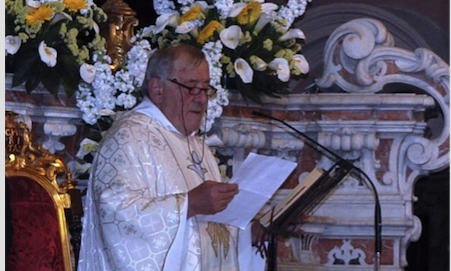 Castellammare di Stabia. È tornato alla Basilica di Pozzano il sacerdote caduto nel dirupo - ROMA on line