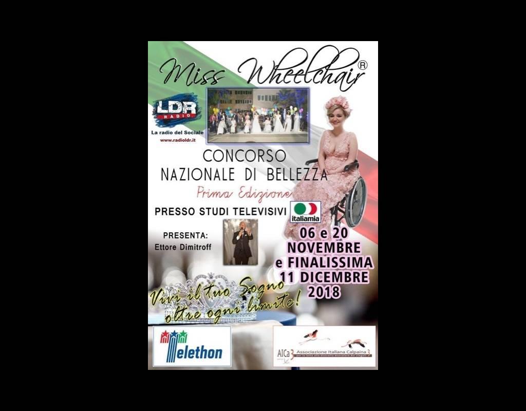 Sedie A Rotelle Roma : Miss wheelchair bellezze sfilano in sedia a rotelle: prima edizione