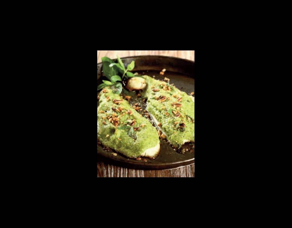Filetti di orata in panatura di zucchine e pinoli roma for Cucinare branzino 5 kg