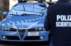 roma pistola agenti ricercato