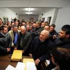 Il candidato governatore del centrosinistra, Vincenzo De Luca