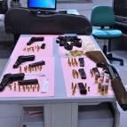giugliano, armi, sequestro