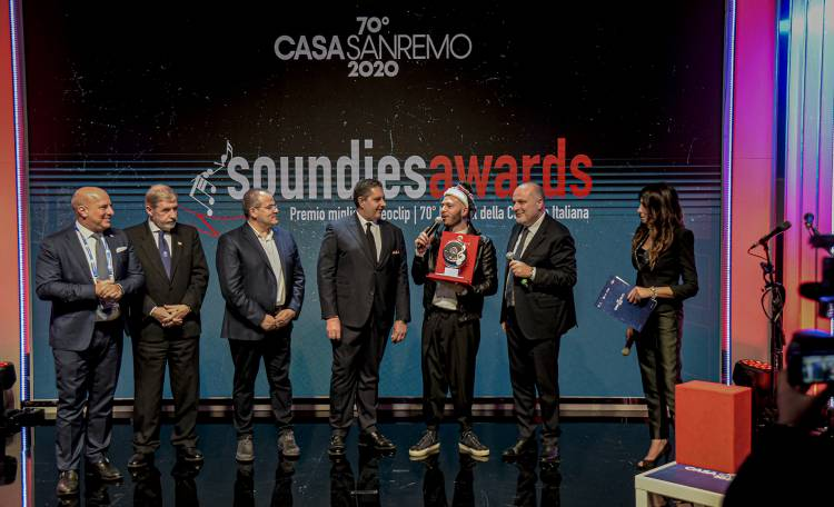 Casa Sanremo Soundies Awards 2020 A Billy Blu Di Marco