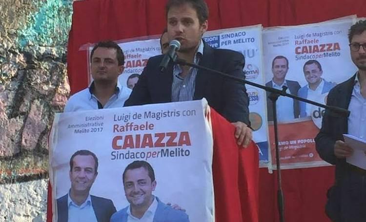 Il candidato demA Stefano Sodano