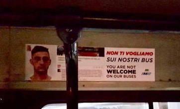 «Non ti vogliamo». A Palermo manifesti su bus contro borseggiatore