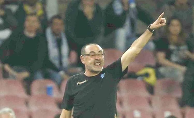 Besiktas-Napoli: 1-1. Sarri: