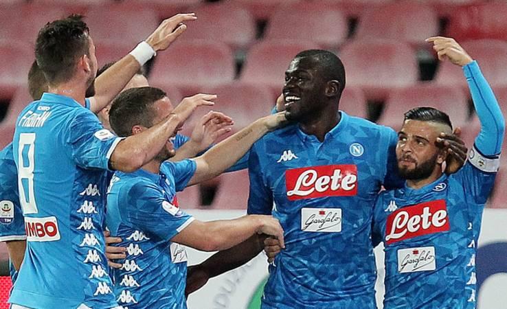 Napoli scatenato contro l'Empoli