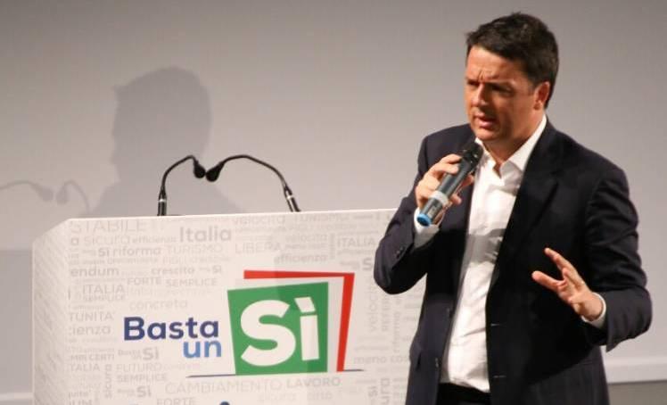 Referndum: Renzi a Napoli