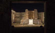 Luci e suoni, nuovo percorso agli scavi di Pompei