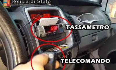 Tassametro manomesso con un congegno elettronico denunciati 9 tassisti