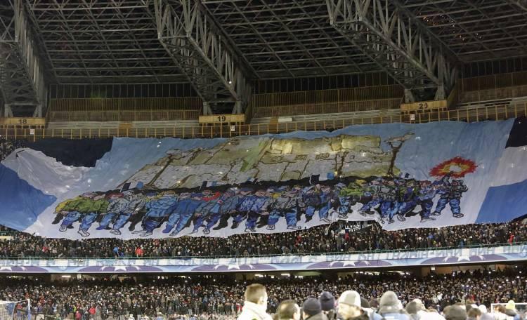 Maradona torna a giocare al San Paolo!