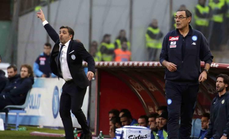 """Il Napoli cerca un nuovo Callejon, Sarri: """"L'ideale è un mix tra Verdi e Deulofeu"""""""