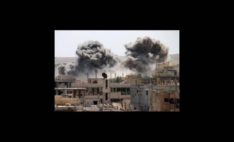 Siria raid base