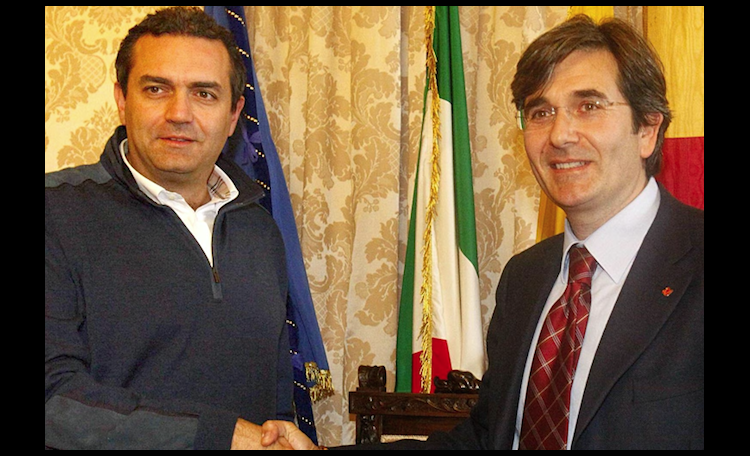 Luigi de Magistris e Raffaele Del Giudice