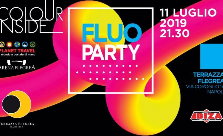 Il Fluo Party Di Colour Inside Alla Terrazza Flegrea Roma