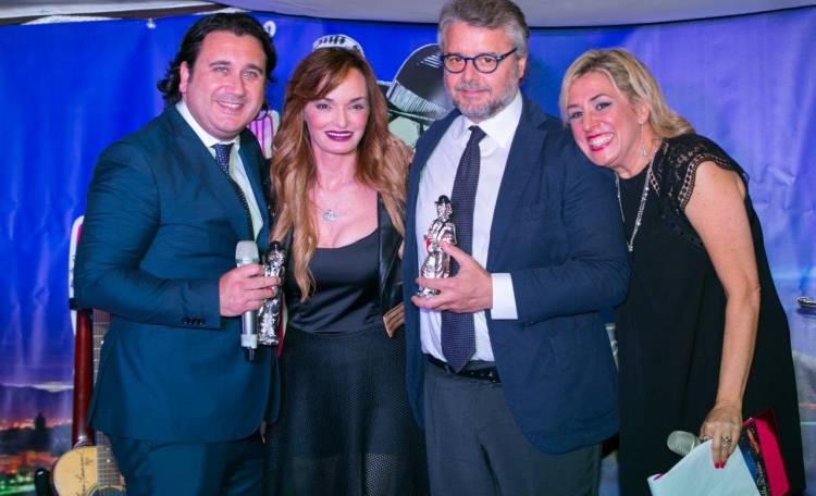 I medici Alfredo Fucito e Paolo Del Rio con Valentina Stella e Barbara Carere