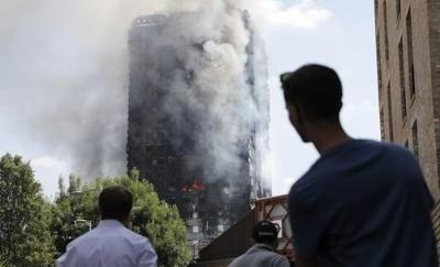 Grattacielo in fiamme, dispersi due italiani