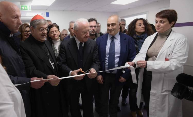 attivati ambulatori all 39 ospedale del mare de luca