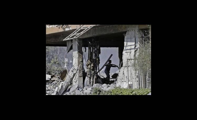 siria raid trump