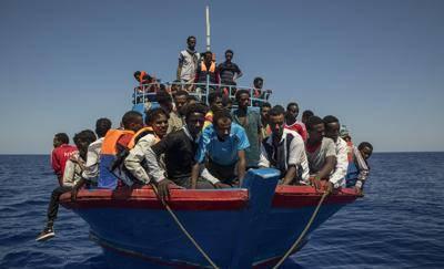 migranti open arms, libia
