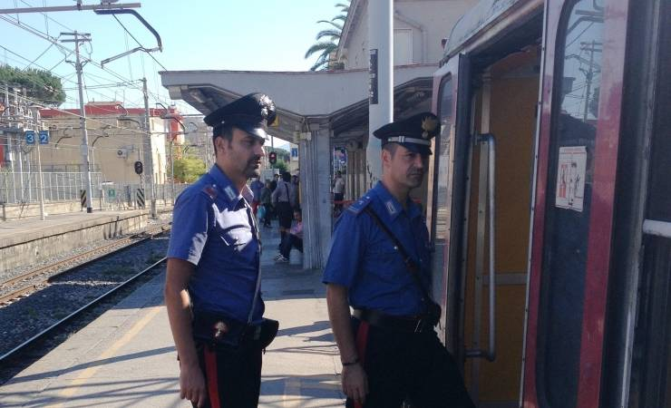 carabinieri circumvesuviana