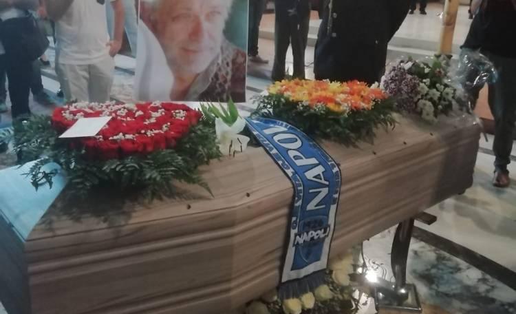 I funerali di Luciano De Crescenzo