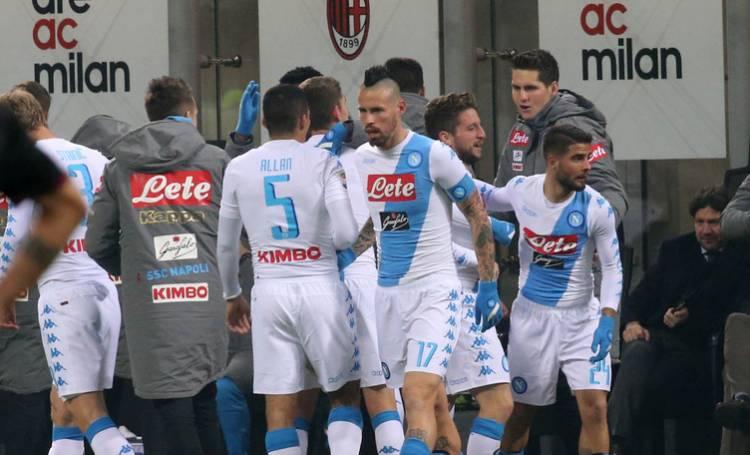 Napoli-Fiorentina 1-0: gli azzurri in semifinale di Coppa Italia, decide Callejon