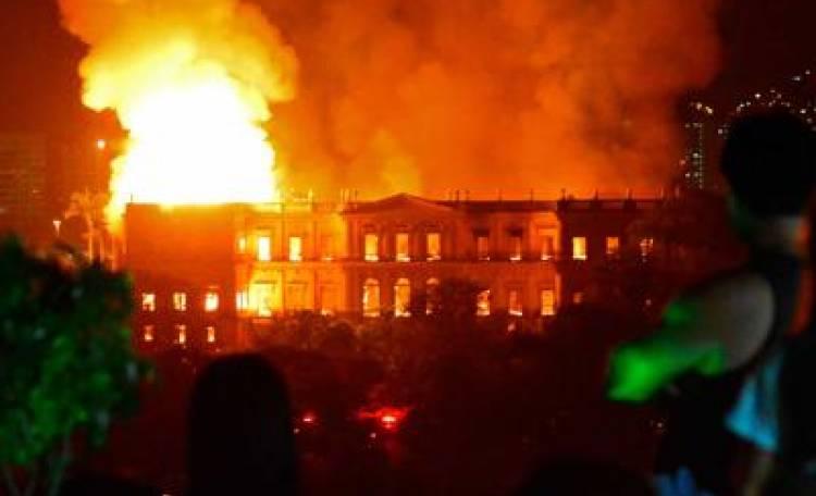 rio museo incendio