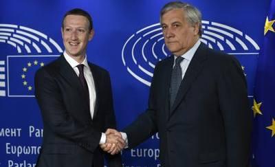 zuckerberg europarlamento