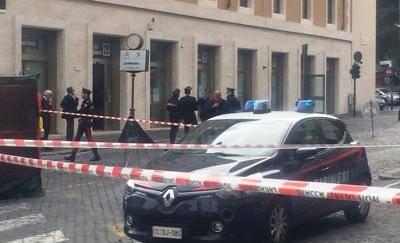 telefonata bomba allarme vaticano banca