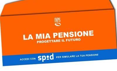 La busta arancione con il calcolo della pensione arriverà martedì