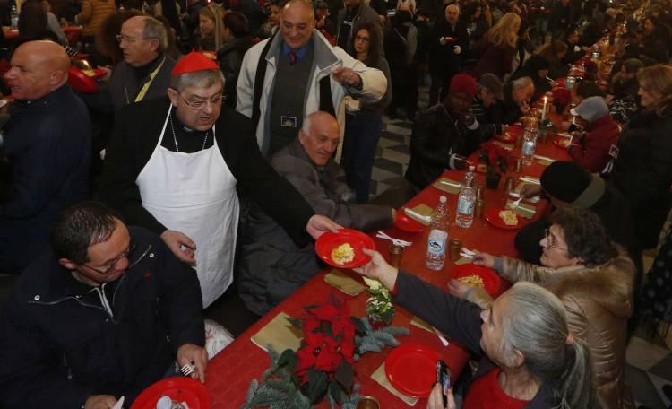 Il cardinale Crescenzio Sepe